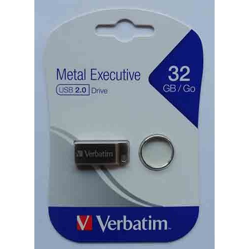 Купить Flash Verbatim 32GB Metal Executive Silver