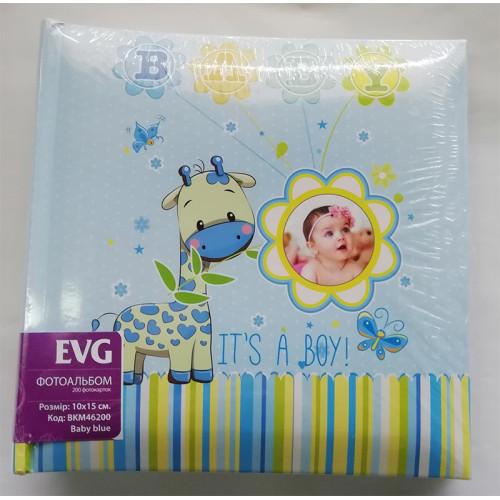 Купить Фотоальбом EVG 10x15x200 Baby blue 2