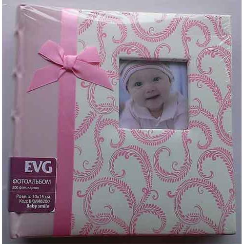 Купить Фотоальбом EVG 10x15x200 Baby smile