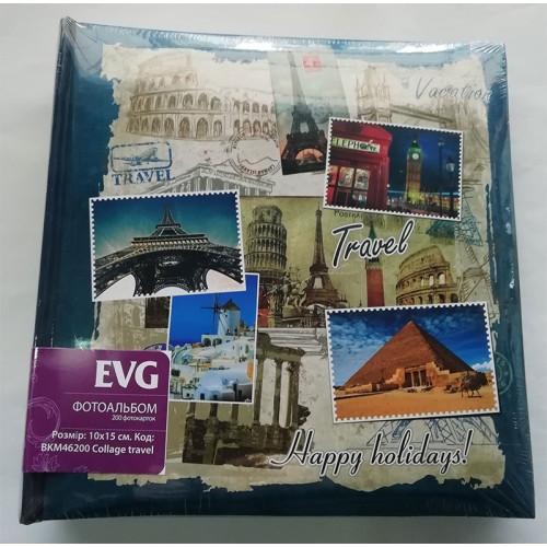 Купить Фотоальбом EVG 10x15x200 Collage Travel