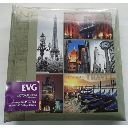 Купить Фотоальбом EVG 10x15x200 Collage Travel2