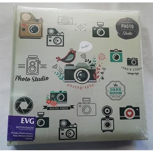 Купить Фотоальбом EVG S29x29 20л Camera