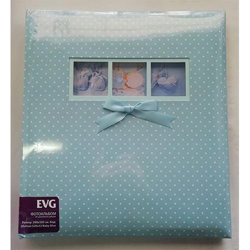 Купить Фотоальбом EVG S29x32 20л Baby blue