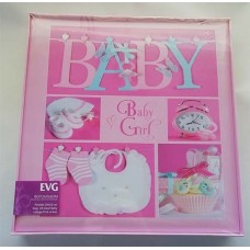 Фотоальбом EVG S29x32 20л Baby collage pink