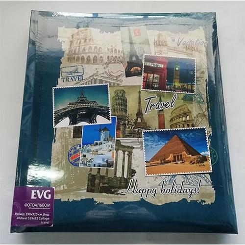 Купить Фотоальбом EVG S29x32 20л Collage Travel