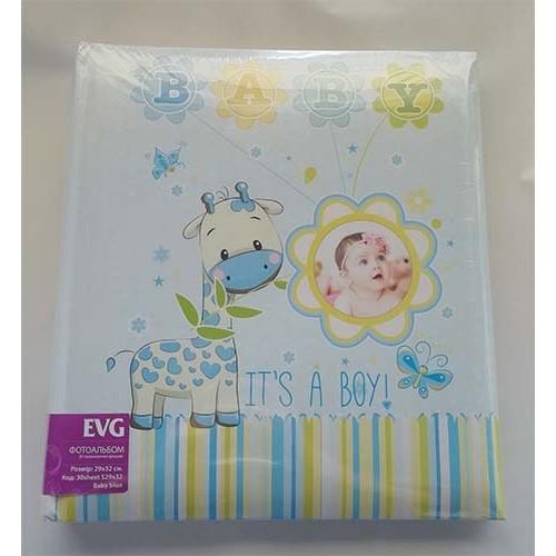 Купить Фотоальбом EVG S29x32 30л Baby blue