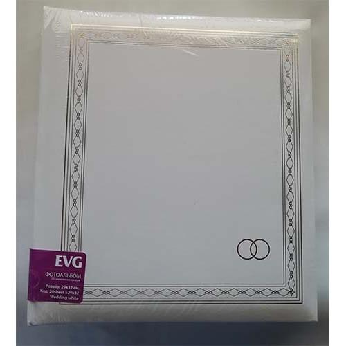 Купить Фотоальбом EVG T29x32 30л Wedding white