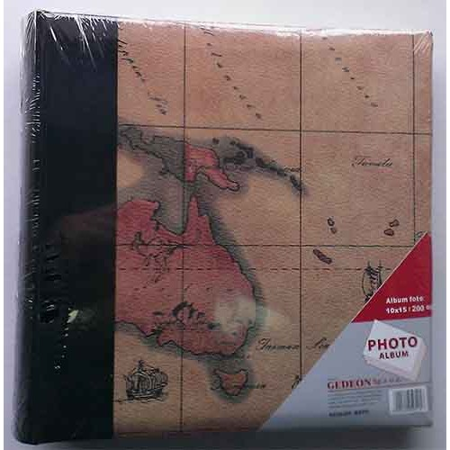 Купить Фотоальбом Poldom 10x15x200 Maps