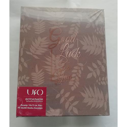Купить Фотоальбом UFO 10x15x200 46200 Sheila chocolate