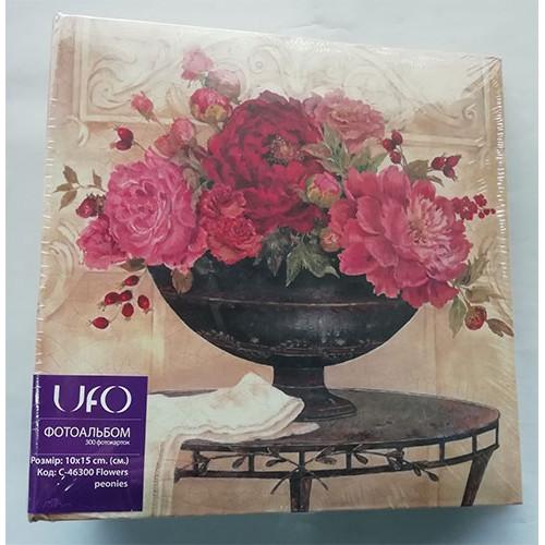 Купить Фотоальбом UFO 10x15x300 Flowers peonies