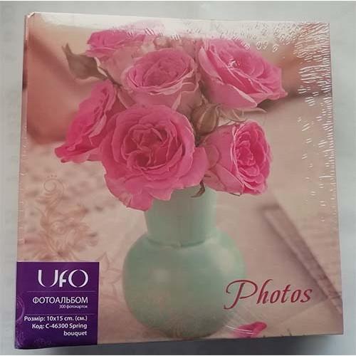 Купить Фотоальбом UFO 10x15x300 Spring bouquet