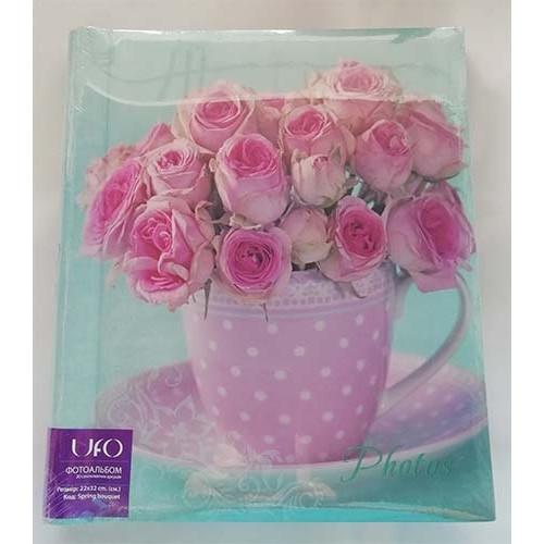 Купить Фотоальбом UFO S22x32 20л Spring bouquet