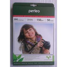 Фотобумага A4 Perfeo 150 g/m 50л глянец
