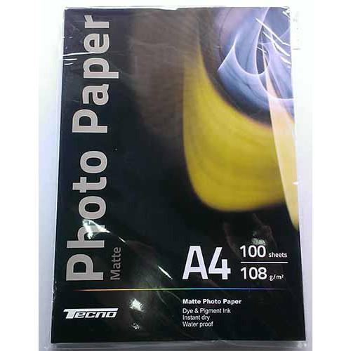 Купить Фотобумага A4 Tecno 108 g/m 100л матовая