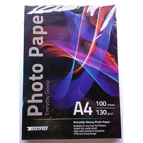 Купить Фотобумага A4 Tecno 130 g/m 100л