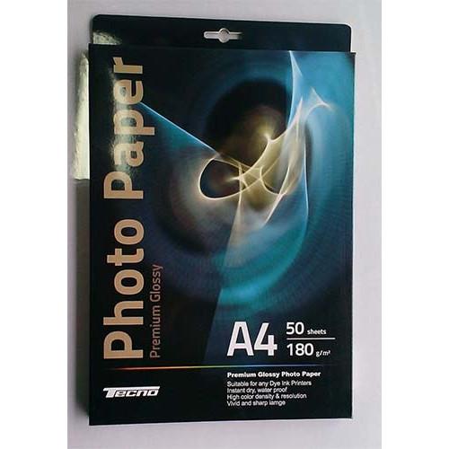 Купить Фотобумага A4 Tecno 180 g/m 50л Premium