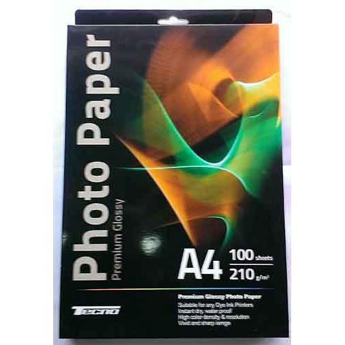 Купить Фотобумага A4 Tecno 210 g/m 100л Premium