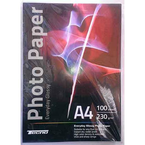 Купить Фотобумага A4 Tecno 230 g/m 100л