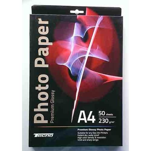 Купить Фотобумага A4 Tecno 230 g/m 50л Premium