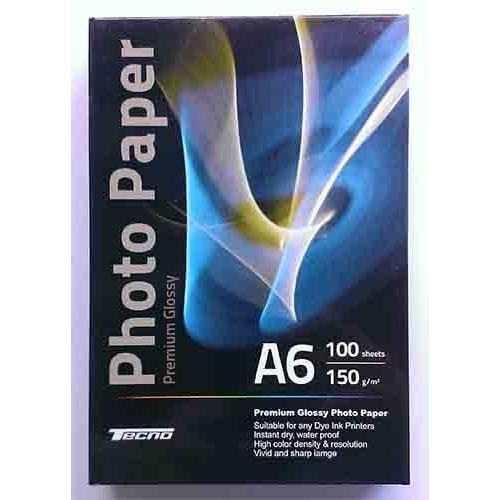 Купить Фотобумага A6 Tecno 150 g/m 100л Premium