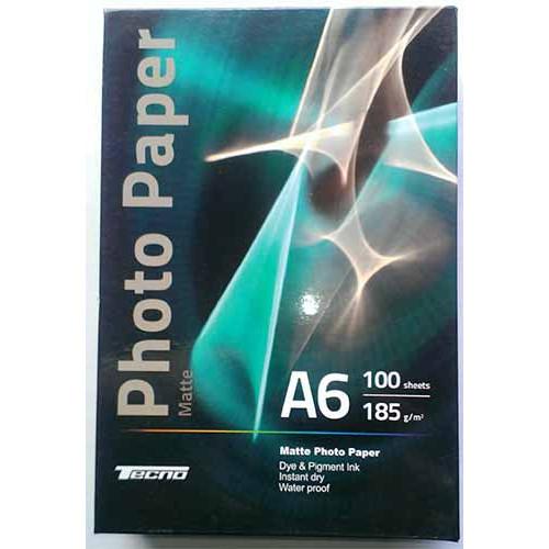 Купить Фотобумага A6 Tecno 185 g/m 100л матовая