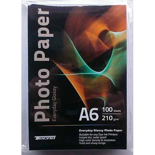 Купить Фотобумага A6 Tecno 210 g/m 100л