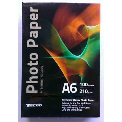 Купить Фотобумага A6 Tecno 210 g/m 100л Premium