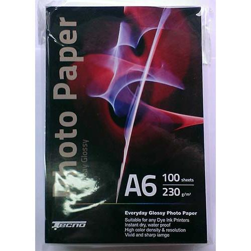 Купить Фотобумага A6 Tecno 230 g/m 100л