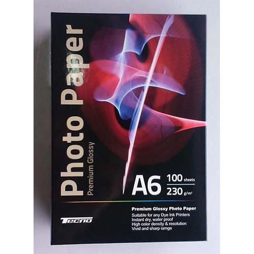 Купить Фотобумага A6 Tecno 230 g/m 100л Premium