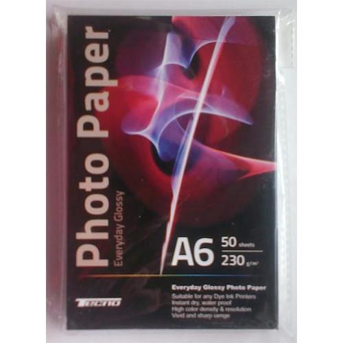 Купить Фотобумага A6 Tecno 230 g/m 50л