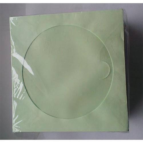 Купить Конверт бумажный для CD с окошком 100шт цветной