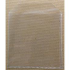 Конверт пластиковый для диска CD/DVD прозрачный