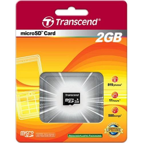 Купить micro-SD Transcend 2GB без SD