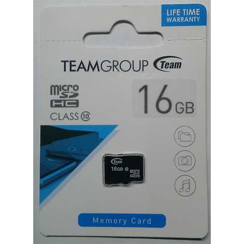 Купить micro-SDHC Card Team 16GB Class 10
