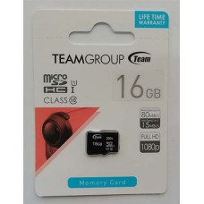 micro-SDHC Card Team 16GB UHS-1 Class 10