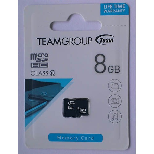 Купить micro-SDHC Card Team 8GB Class10
