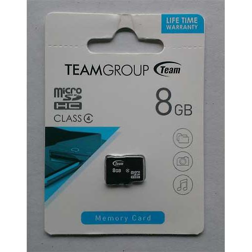 Купить micro-SDHC Card Team 8GB Class4
