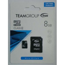 micro-SDHC Card Team 8GB Class4 + адаптер