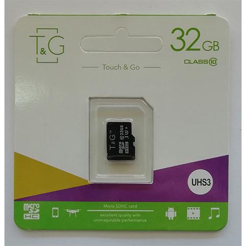 Купить micro-SDHC Card T&G 32GB Class10 UHS-1/U3