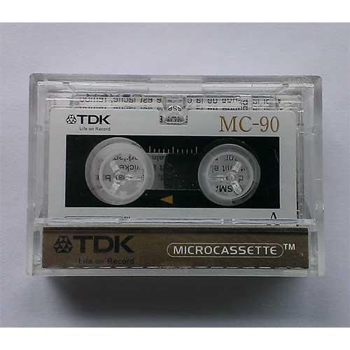 Купить Микрокассета TDK MC-90 для диктофона