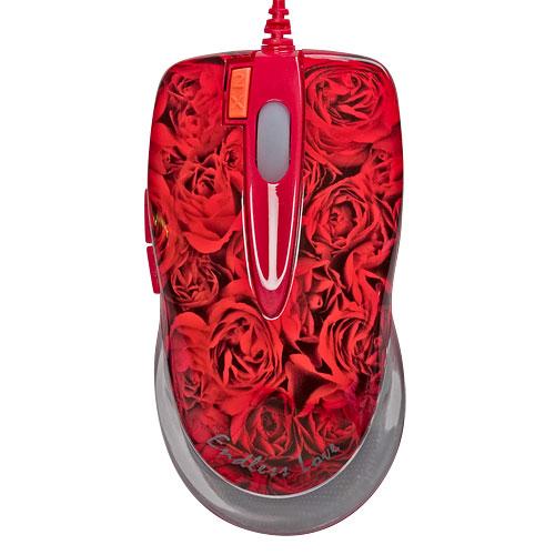 Купить Мышь A4 X6-999D USB Роза