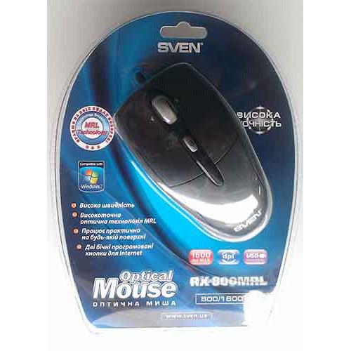 Купить Мышь SVEN RX-800MRL USB