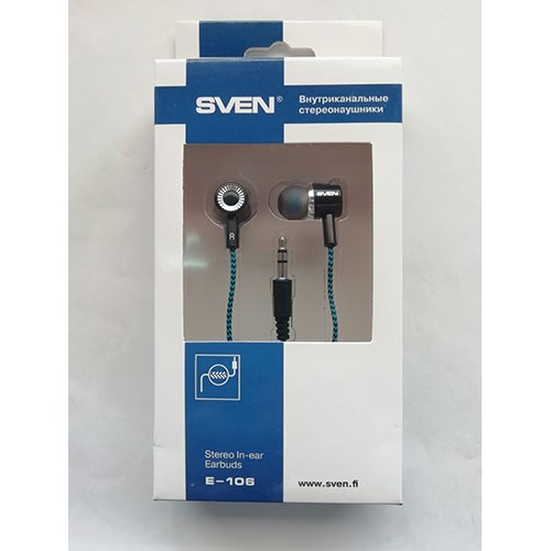 Купить Наушники SVEN E-106 Black/Blue