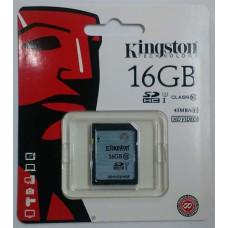 SDHC Card Kingston 16GB Class 10 UHS-1