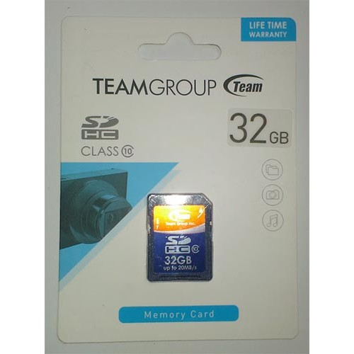 Купить SDHC Card Team 32GB Class 10