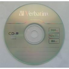CD-R Verbatim 700Mb Bulk10 52x Extra 43725