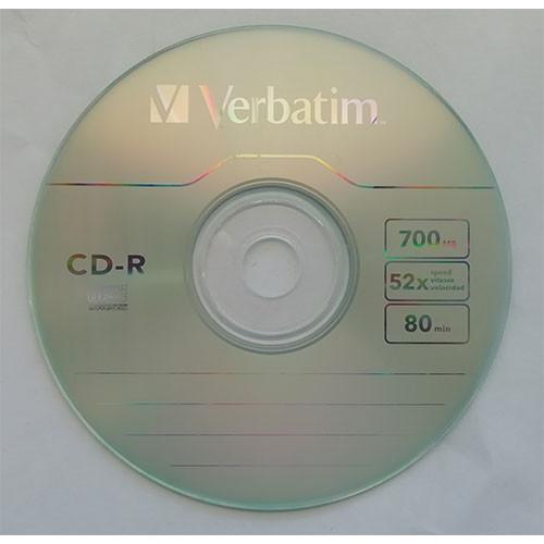 Купить CD-R Verbatim 700Mb Bulk10 52x Extra 43725