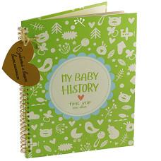 Альбом HOME HISTORY для малюків My Baby History: First Year (від нароження до 1 року) (RU)