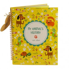 Альбом HOME HISTORY для дом. тварин My Animal's History (RU)