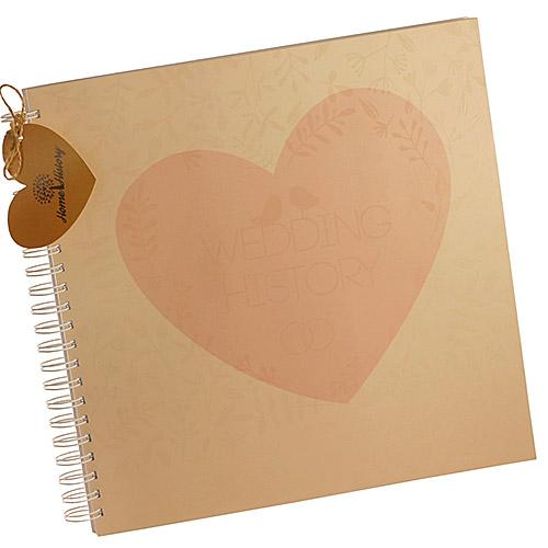 Купить Альбом HOME HISTORY весільний блокнот Wedding History (RU)